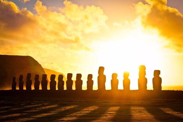La sociedad de la Isla de Pascua no colapsó antes del contacto europeo
