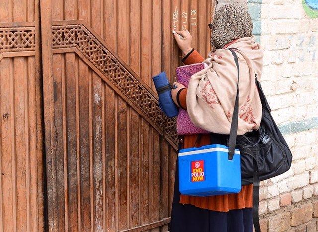 Pakistán.- Los casos de polio en Pakistán ya igualan en solo un mes a los de tod