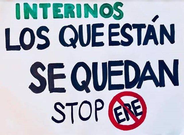 El Colectivo de Empleados Públicos en Abuso de Temporalidad convoca manifestación en Madrid