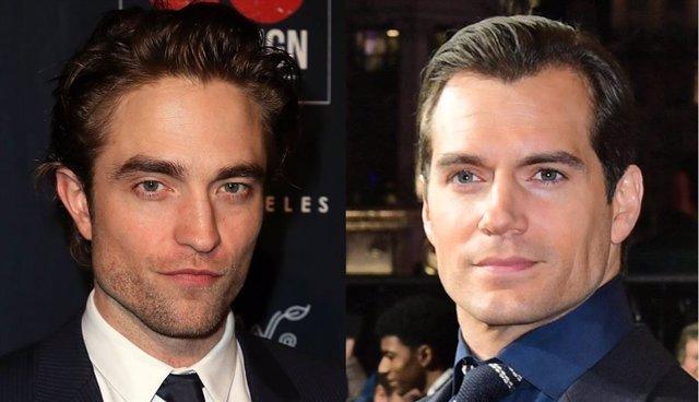 Robert Pattinson y Henry Cavill