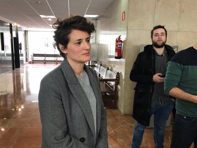 La regidora d'ERC a l'Ajuntament de Barcelona Eva Baró.