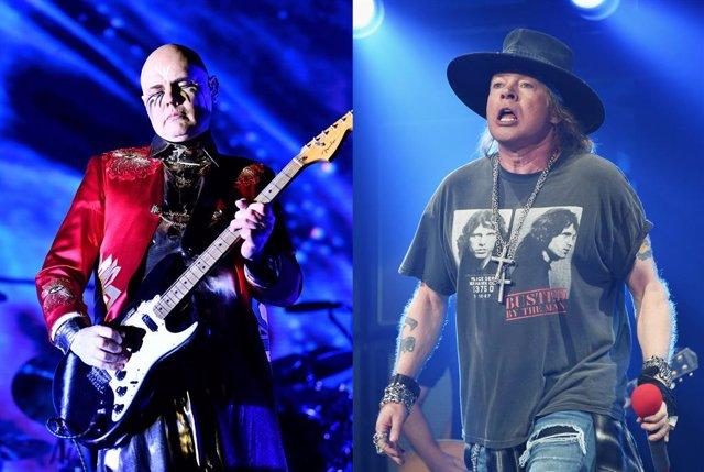 Billy Corgan y Axl Rose