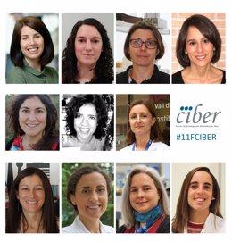 11 Investigadoras Clave Del Centro De Investigación Biomédica En Red (CIBER)