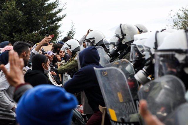 """Grecia.- ACNUR ve """"alarmante"""" la situación de los migrantes en las islas griegas"""