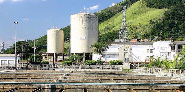 Planta de tratamiento residual de Novo Guandu