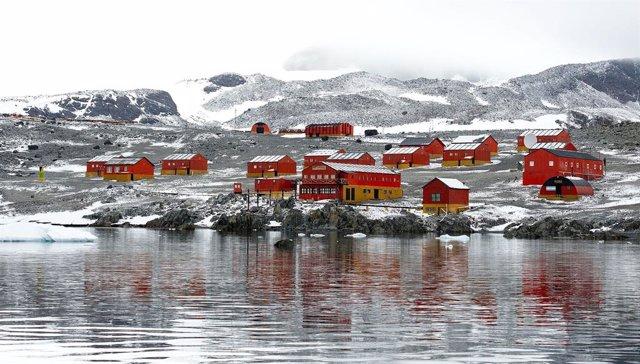 Posible récord de temperatura máxima en la Antártida