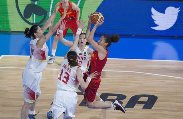 España - China del Preolímpico 2016