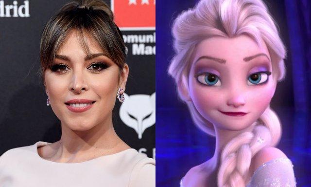 Gisela, la voz de Elsa (Frozen) en España