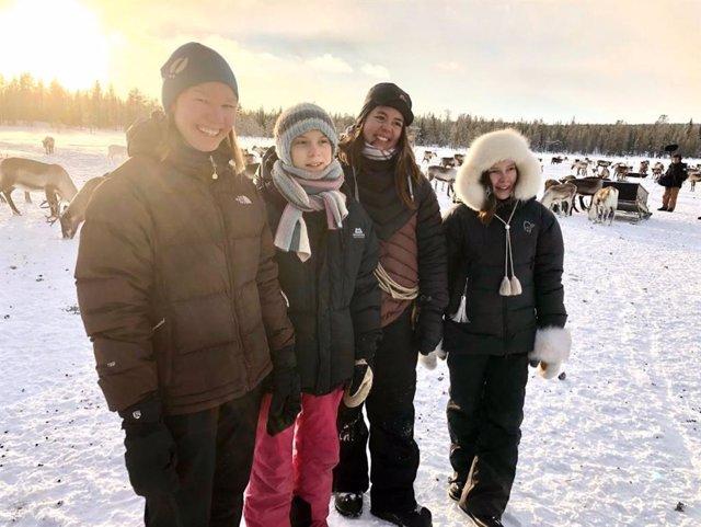 Suecia.- Greta Thunberg se suma a las protestas contra el cambio climático del p