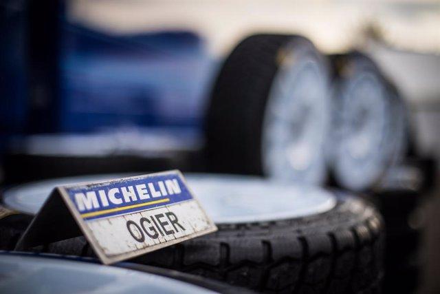 Imagen de un neumático Michelin.