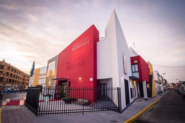 El Centro Cultural Antonio Gala de La Rinconada