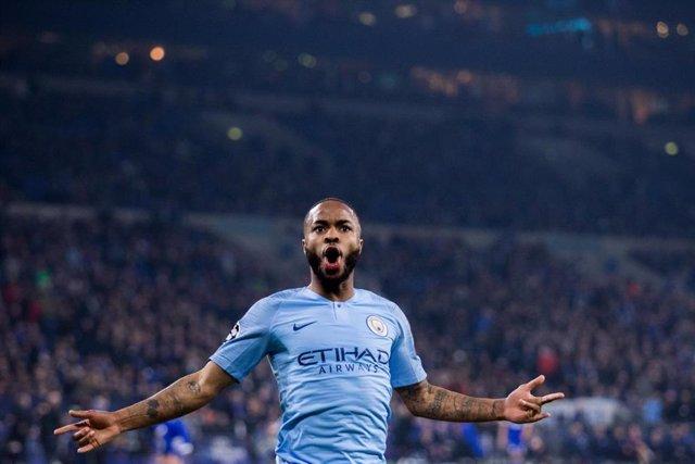 Raheem Sterling, jugador dle Manchester City