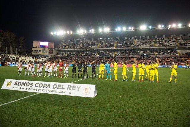Fútbol.- Apelación confirma el cierre parcial del Estadio de Vallecas tras los c
