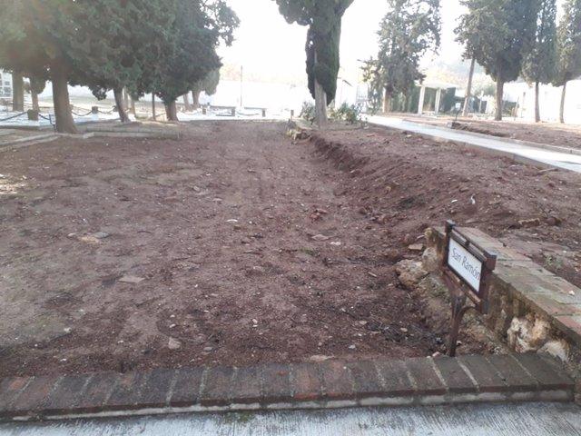 Cuadro funerario de San Ramón del Cementerio de la Salud de Córdoba donde intervendrá Aremehisa.
