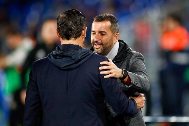 """Fútbol.- Diego Martínez, sobre el Atlético: """"Será un partido de máxima eficacia,"""