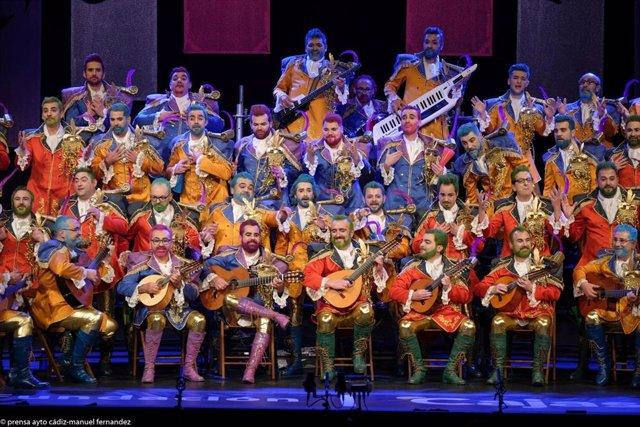 El Coro de Mérida Coromía en el Gran Teatro Falla
