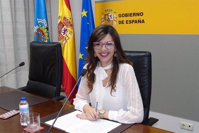 La delegada del Gobierno en Melilla, Sabrina Moh