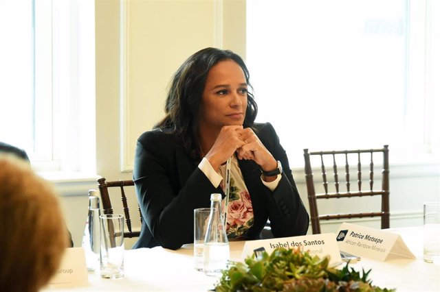 Isabel dos Santos, hija del expresidente de Angola José Eduardo dos Santos