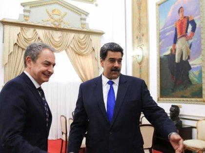 Venezuela.- Zapatero se reúne con Nicolás Maduro y Delcy Rodríguez en el Palacio de Miraflores de Caracas