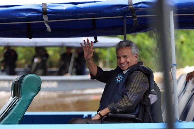 Imagen del presidente de Ecuador, Lenín Moreno.