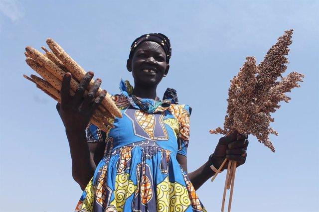 Sudán del Sur.- Las mujeres de Sudán del Sur, en la vanguardia de la lucha contr