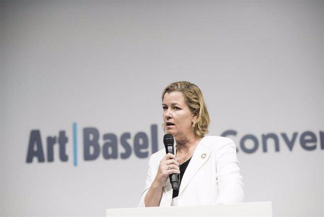 Kelly Clements, alta comisionada adjunta de la ONU para los refugiados