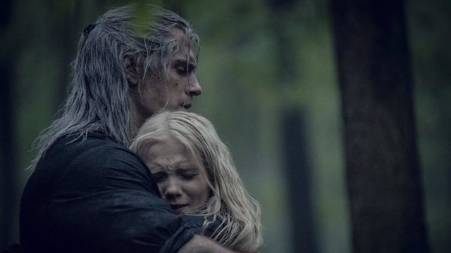 Geralt y Ciri en The Witcher