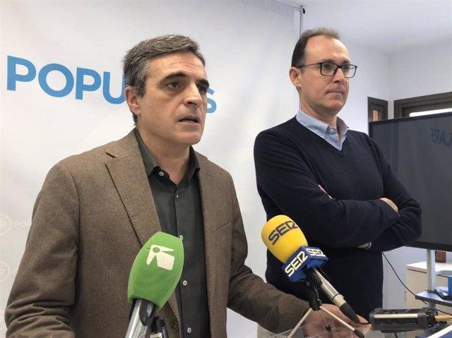 El portavoz del Grupo Popular en el Ayuntamiento de Ibiza, José Vicente Marí Bosó.