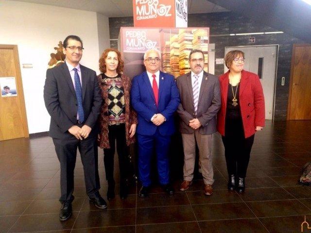 Toma de posesión del alcalde de Pedro Muñoz.