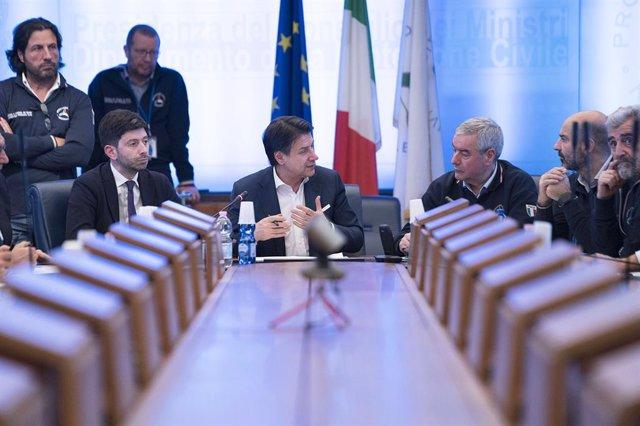 Reunió del Govern italià sobre el coronavirus