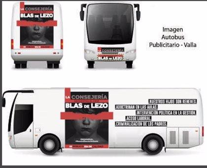 """Familias del Blas de Lezo organizan un crowdfunding para dar visibilidad a su """"lucha"""" contra Educación con un autobús"""