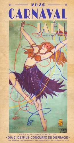 Cartel del carnaval de Jaén