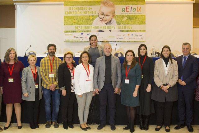 Inauguración del II Congreso de Educación Infantil de Andalucía.