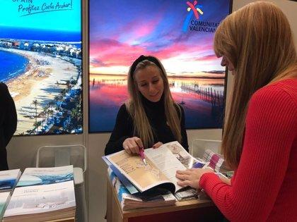 La Generalitat promociona la oferta turística de la Comunitat Valenciana en el Salon des Vacances de Bruselas