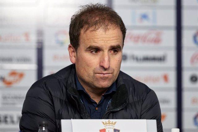 Jagoba Arrasate, entrenador del CA Osasuna.