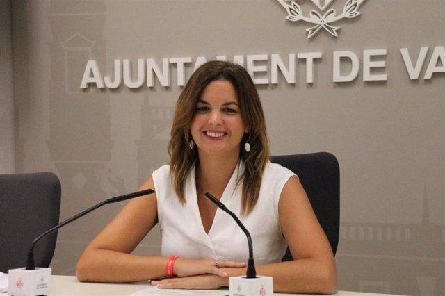 La vicealcaldesa de Valncia, Sandra Gómez