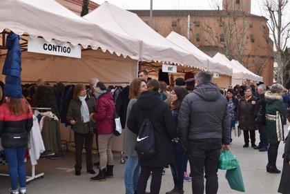 Un total de 15 establecimientos participan en la Feria del Remate en Monzón