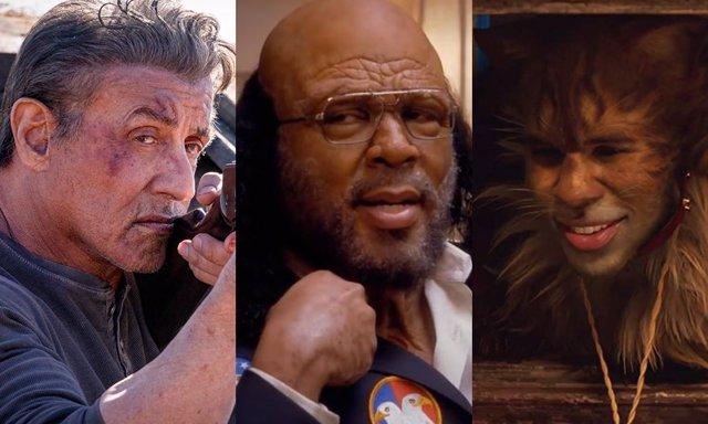 Rambo, Madea y Cats las tres grandes nominadas a los Razzies