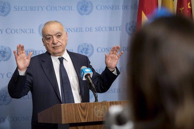 El director de la UNSMIL, Ghassan Salame