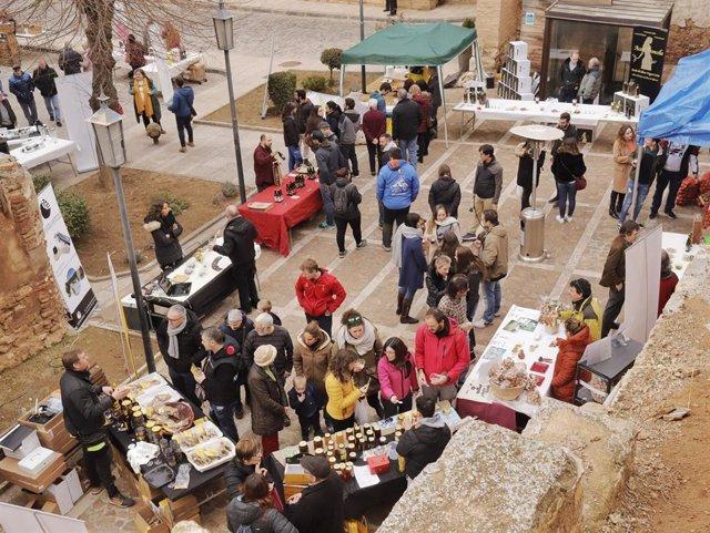 Mercado Agroalimentario de las III jornadas de la Trufa Negra de la Comarca Campo de Daroca