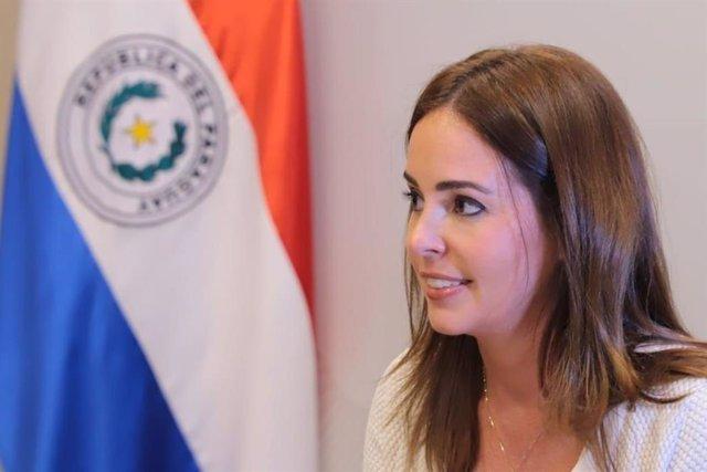 La primera dama de Paraguay, Silvana López