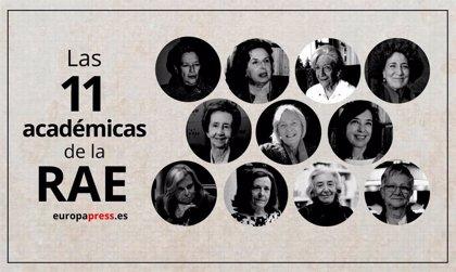 ¿Cuántas mujeres hay en la RAE? Las 11 académicas de la Academia entre los casi 500 miembros desde su fundación