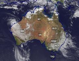 Tormentas en Australia.