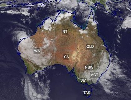 Australia.- Continúan las fuertes lluvias en el este de Australia, aunque se debilita el ciclón tropical