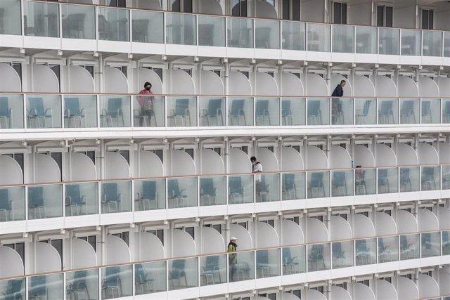 Crucero World Dream, afectado por la epidemia de coronavirus