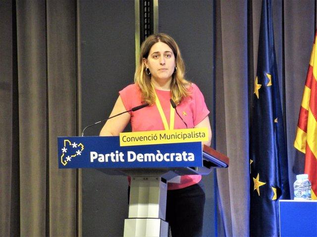 La senadora del PDeCAT i excoordinadora general del partit, Marta Pascal, en una foto d'arxiu.