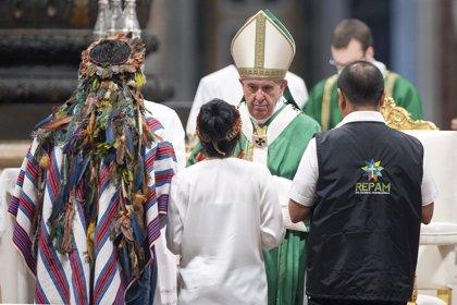 Papa Francisco.- El Papa publicará este miércoles su exhortación apostólica 'Querida Amazonia'