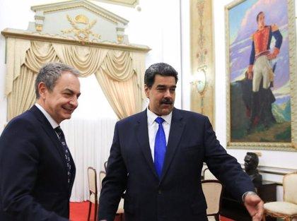 """Venezuela.- Delcy Rodríguez agradece los """"importantes esfuerzos"""" de Zapatero en Venezuela"""