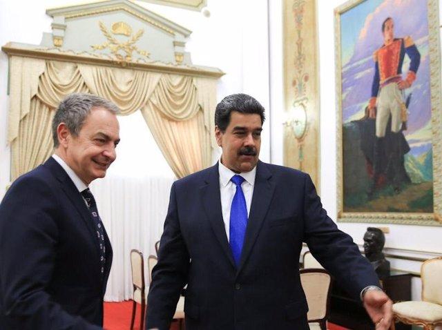"""Venezuela.- Delcy Rodríguez agradece los """"importantes esfuerzos"""" de Zapatero en"""