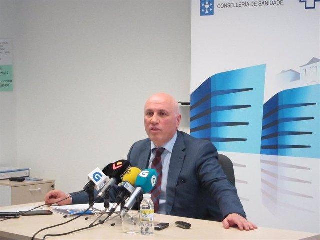 El gerente del Servizo Galego de Saúde (Sergas), Antonio Fernández-Campa.